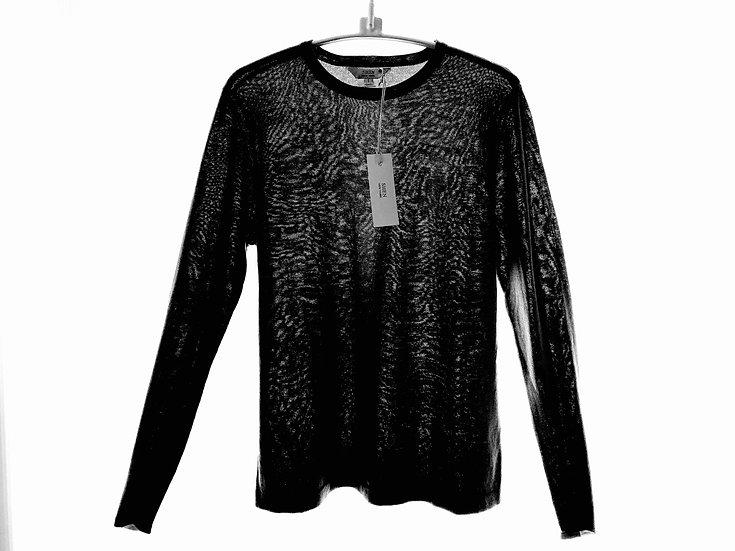 Silk/Cotton Crew Black 0, 1, 2, 3