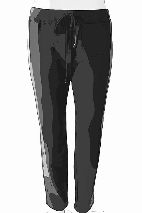 Cotton Sweat Pants Size-0 Gray