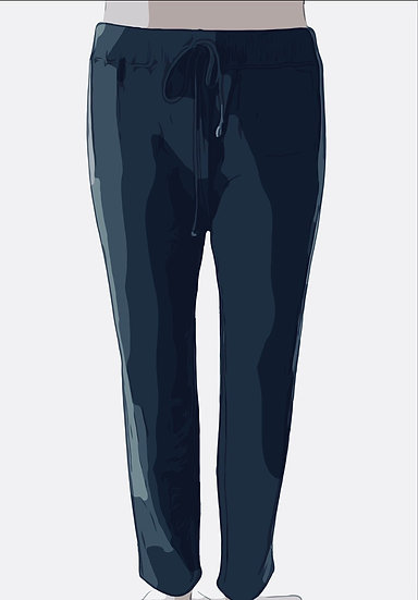 Cotton Sweat Pants Navy 0, 1, 2, 3