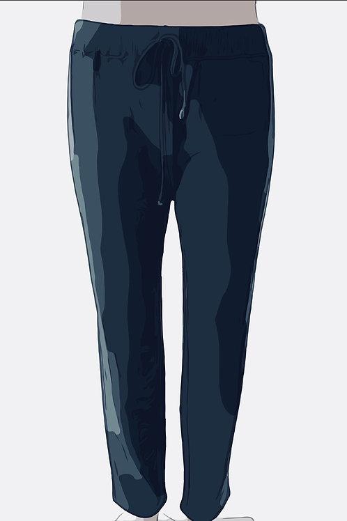 Cotton Sweat Pants Size-2 Navy
