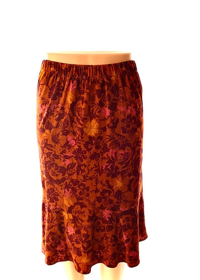 Rust/Wine Skirt Size-2