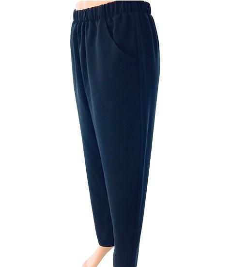 105B Fuller Leg Wide Elastic +Pockets- Gaberdine (1-2 weeks )