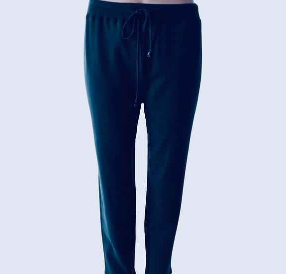 Cotton Drawstring Sweat Pants Black, Gray, Navy
