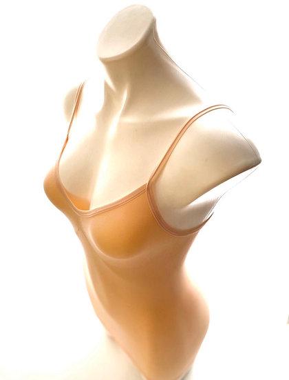 Body Shaping Slip Dress/ Extra Long Cami Black, White, Nude