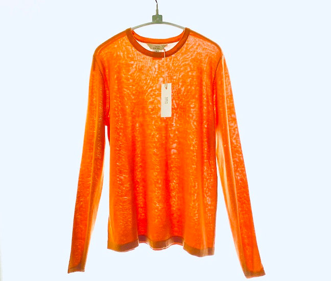Silk/Cotton Crew Orange 0, 1, 2, 3