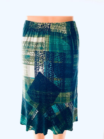 Hunter/Navy Skirt Size-1