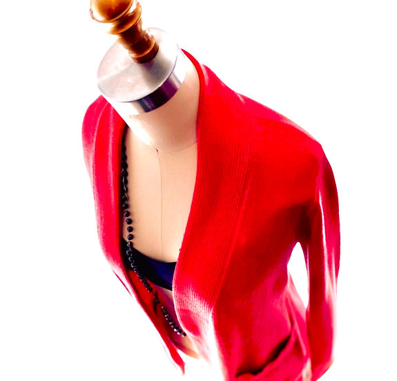 Cardigan Rose Red