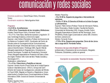 XI Jornadas Nacionales sobre Imagen, Comunicación y Redes Sociales