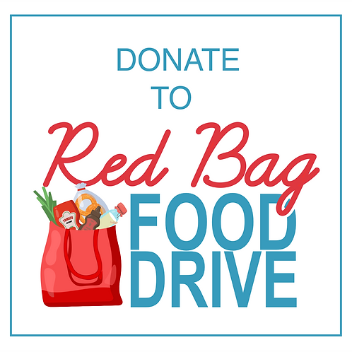 Red Bag Food Drive Donation