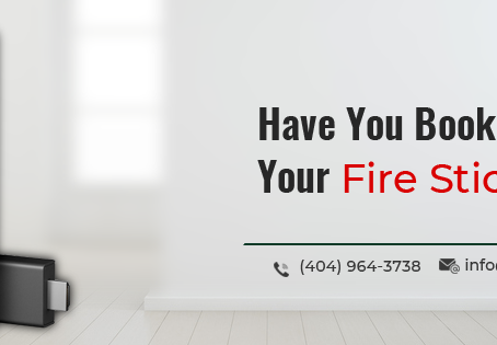 Have You Booked Your Fire Stick Yet?