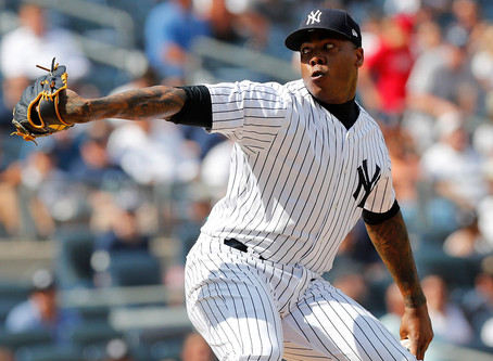 Aroldis Chapman Didn't Let COVID-19 Stop Him