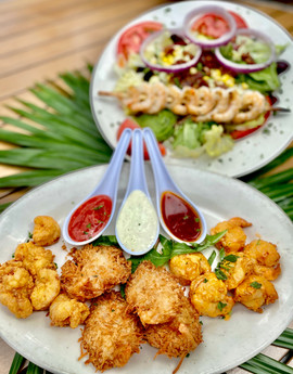 island shrimp trio with rumba salad.jpg
