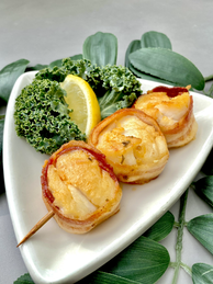 Bacon Wrapped Scallops.heic