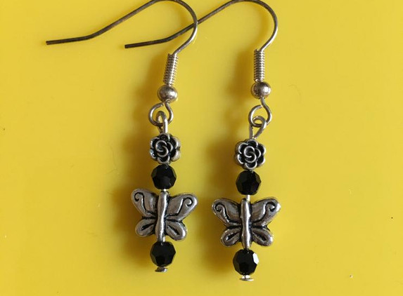 small-butterfly-and-rose-earrings
