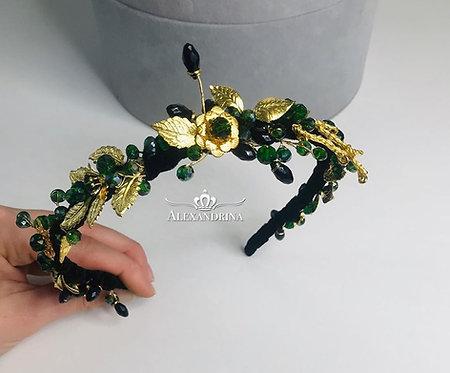 Headband Green Fairy