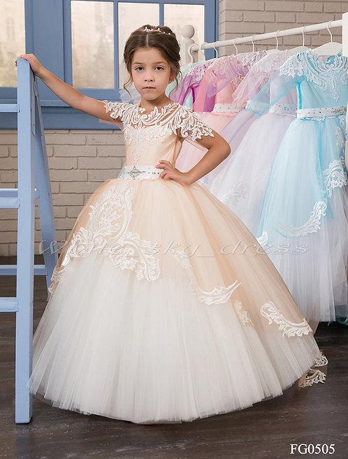 Детское нарядное платье FG0505