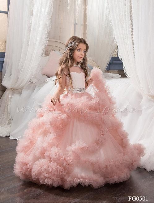 Пышное платье для девочки FG0501