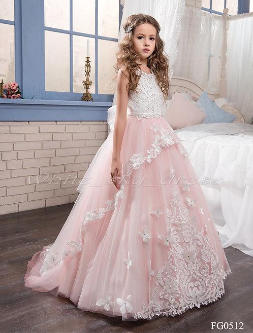Детское бальное платье FG0512