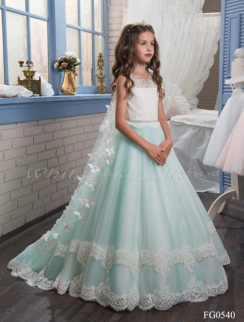 Детское бальное платье FG0540