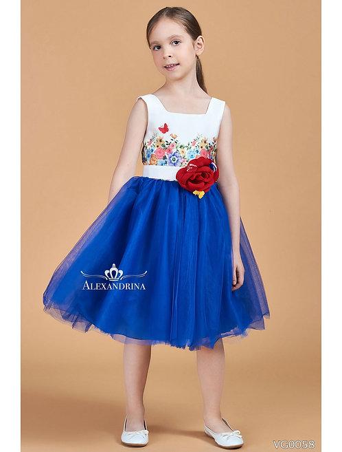 Детское нарядное платье VG0058