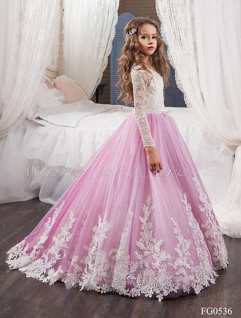 Детское бальное платье FG0536