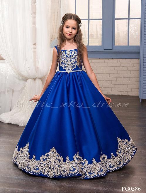 Детское бальное платье FG0586