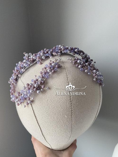HeadBand Duble Lilac