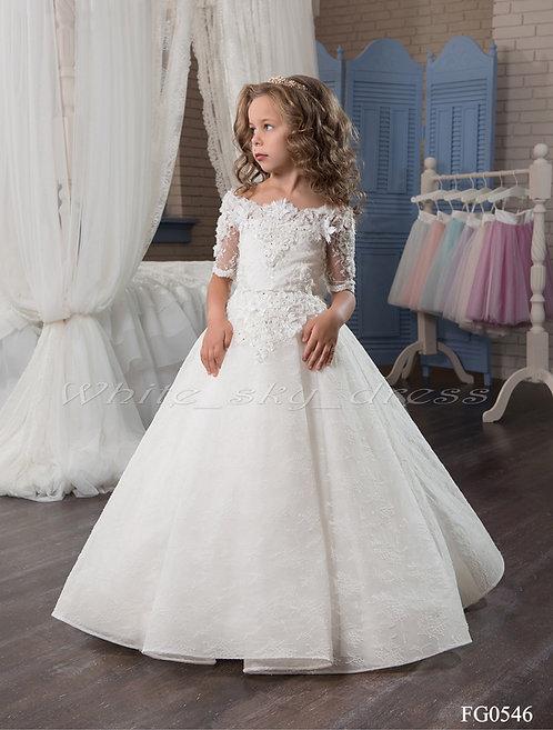 Детское бальное платье FG0546