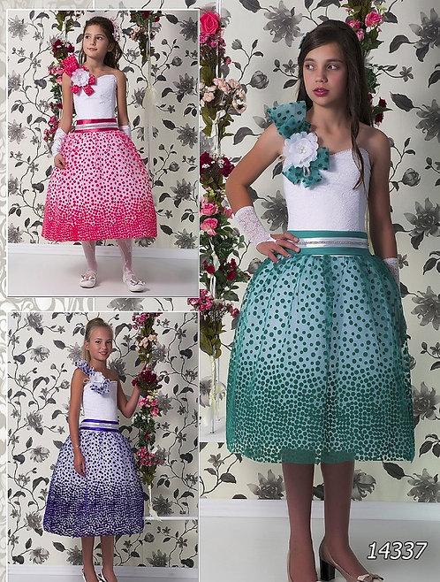Детское бальное платье 14337