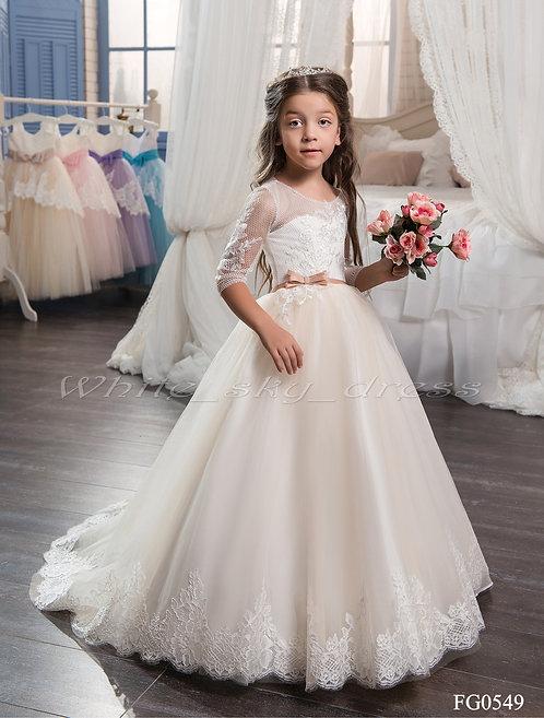 Детское бальное платье FG0549