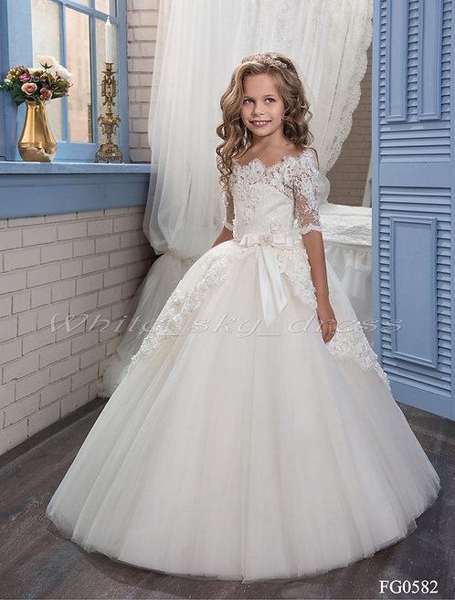 Детское бальное платье FG0582