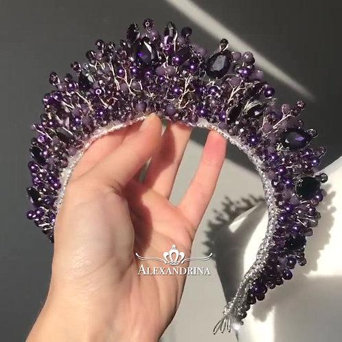 Tiara  Purple Pearl