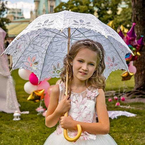 Кружевной зонтик 2