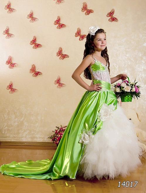 Детское бальное платье 14017