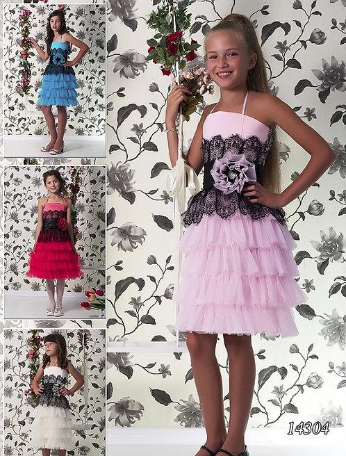 Детское бальное платье 14304