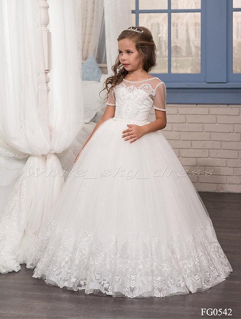 Детское бальное платье FG0542