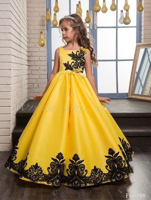 Детское бальное платье FG0588