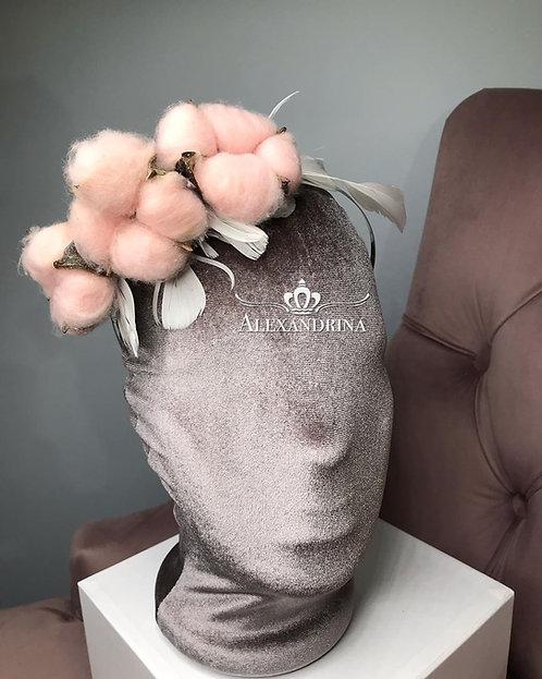 HeadBand  Pink Сotton