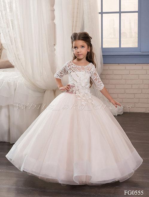Детское бальное платье FG0555