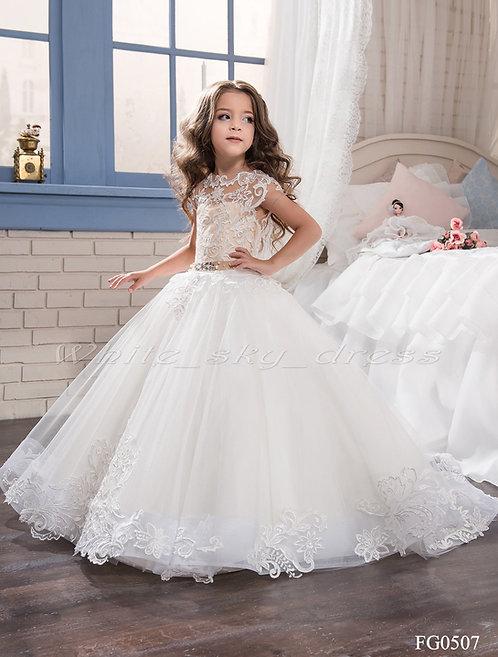 Детское бальное платье FG0507