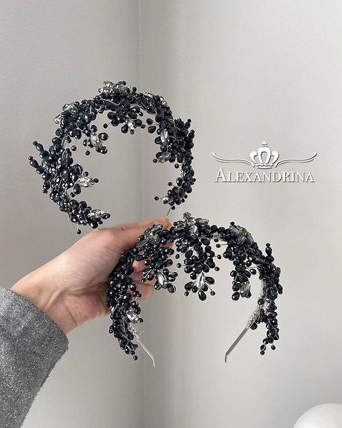 HeadBand Viliona Black