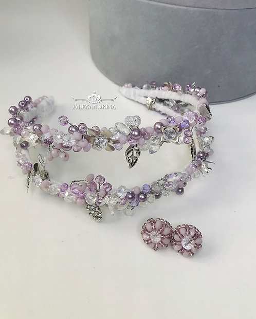 Headband Duble Purple
