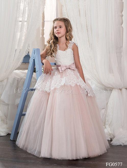 Детское бальное платье FG0577