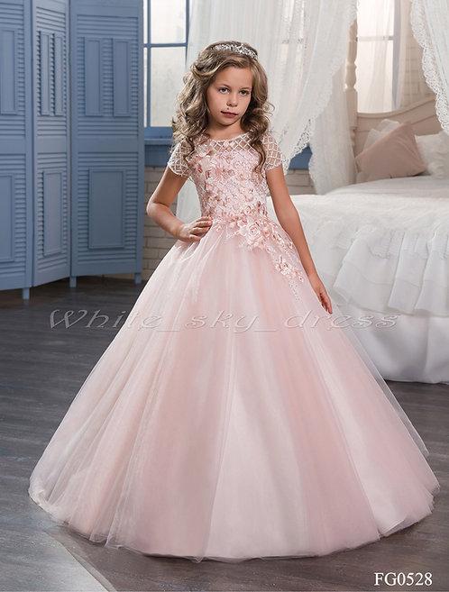 Детское бальное платье FG0528