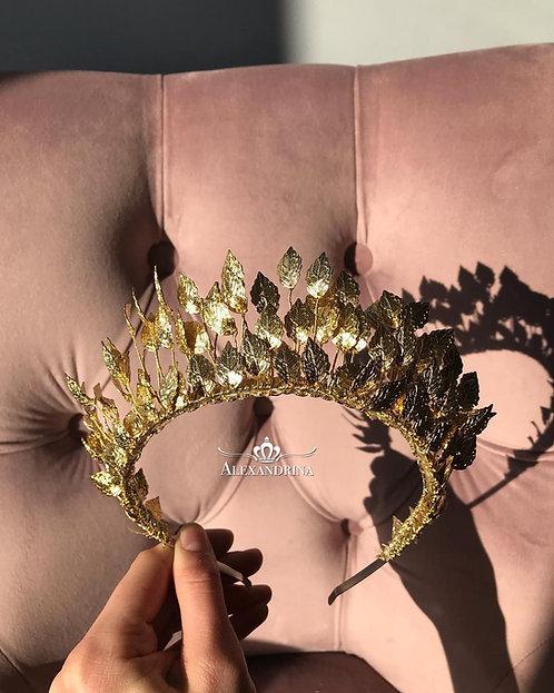 Gold Tiara Leaf's