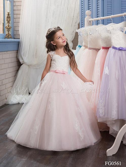 Детское бальное платье FG0561