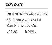 Patrick Evan Salon, hair extensions san francisco