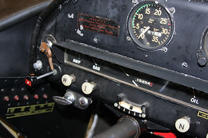 Flying Car instrument panel