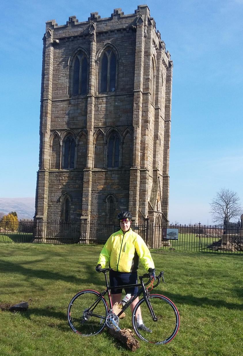 Jamie Paterson on his bike