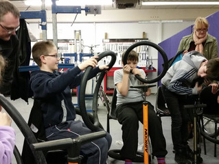 Carronshore Youth Club Bike Maintenance Session